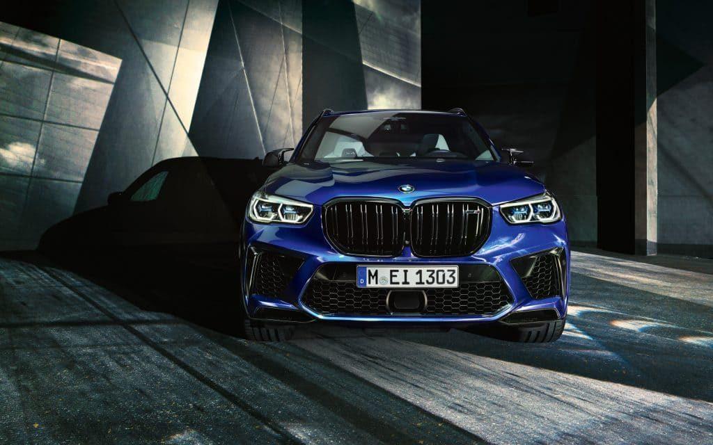 Blauer BMW